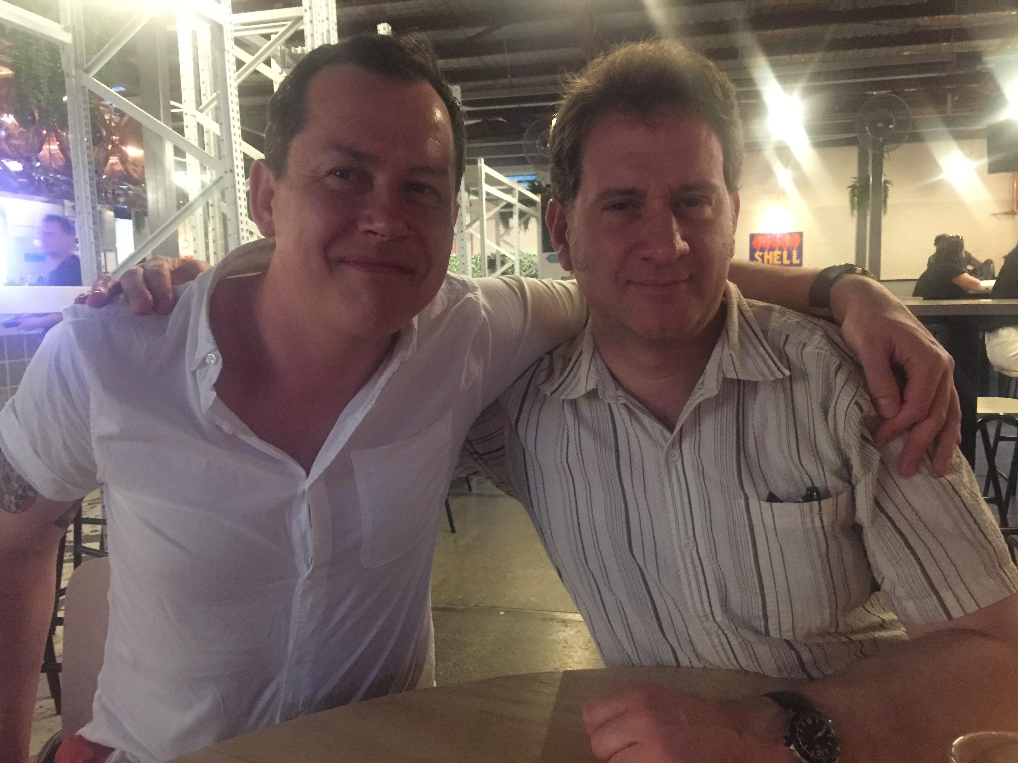 Johannes and me